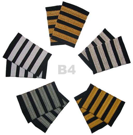 fd5ccc48876 Airline Captain Epaulet 4 Stripe Bars