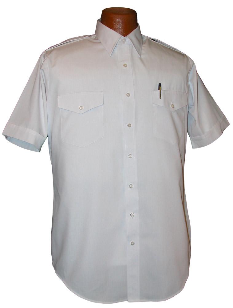 Van Heusen Aviator Short Sleeve Pilot Shirt Tall