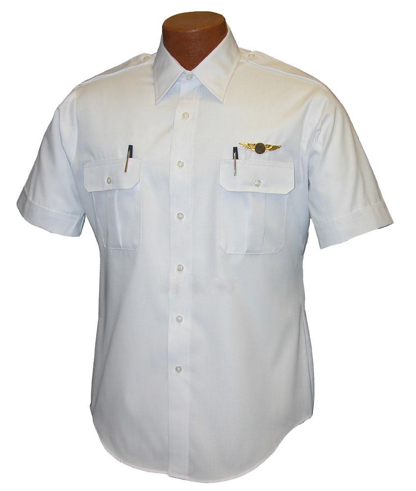 Van heusen short sleeve pilot shirt for Van heusen men s short sleeve dress shirts
